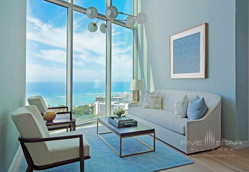 The Ao Haweo Penthouse at The Ritz-Carlton Residences, Waikiki Beach Honolulu, HI