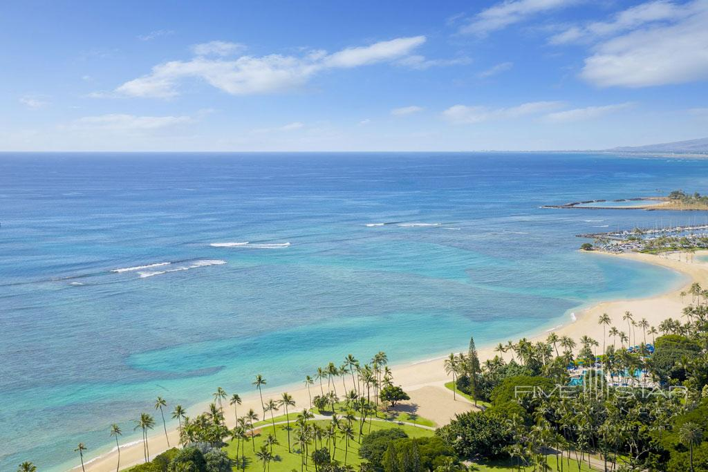 Fort Derussy Beach at The Ritz-Carlton Residences, Waikiki Beach Honolulu, HI