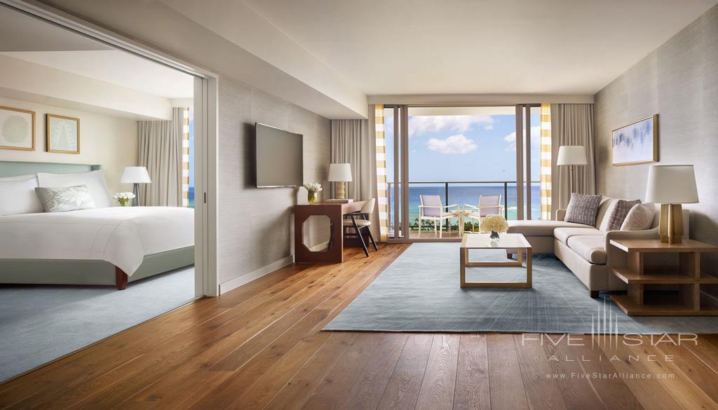 One Bedroom Suite at The Ritz-Carlton Residences, Waikiki Beach Honolulu, HI