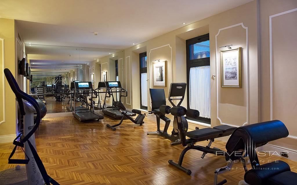 Fitness Center at Aldrovandi Villa Borghese, Rome, Italy