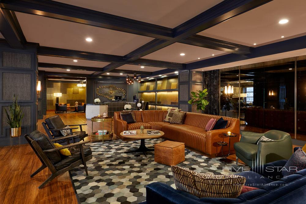 Lobby and Lounge at Hutton Hotel, Nashville, TN Credit Tim Williams