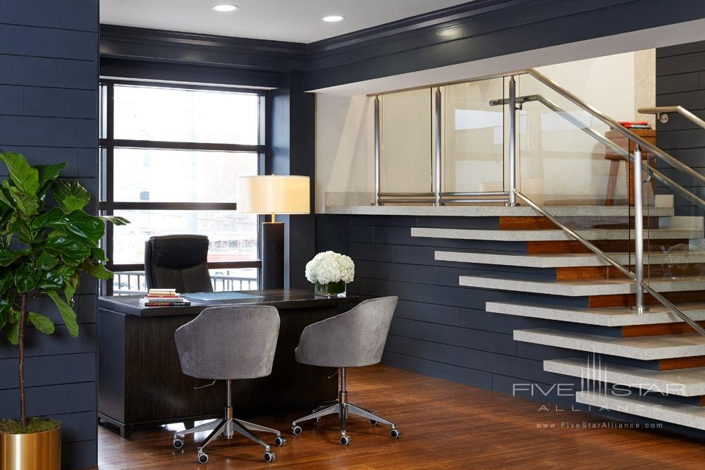 Concierge Desk at Hutton Hotel, Nashville, TN Credit Tim Williams