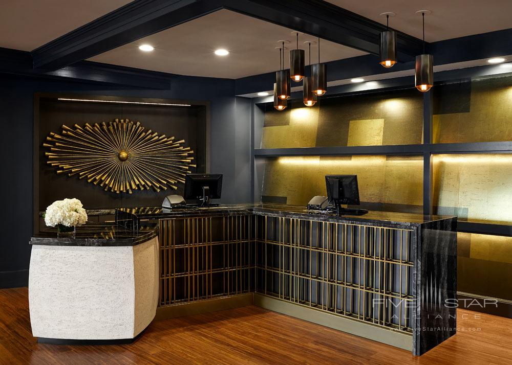 Front Desk at Hutton Hotel, Nashville, TN Credit Tim Williams