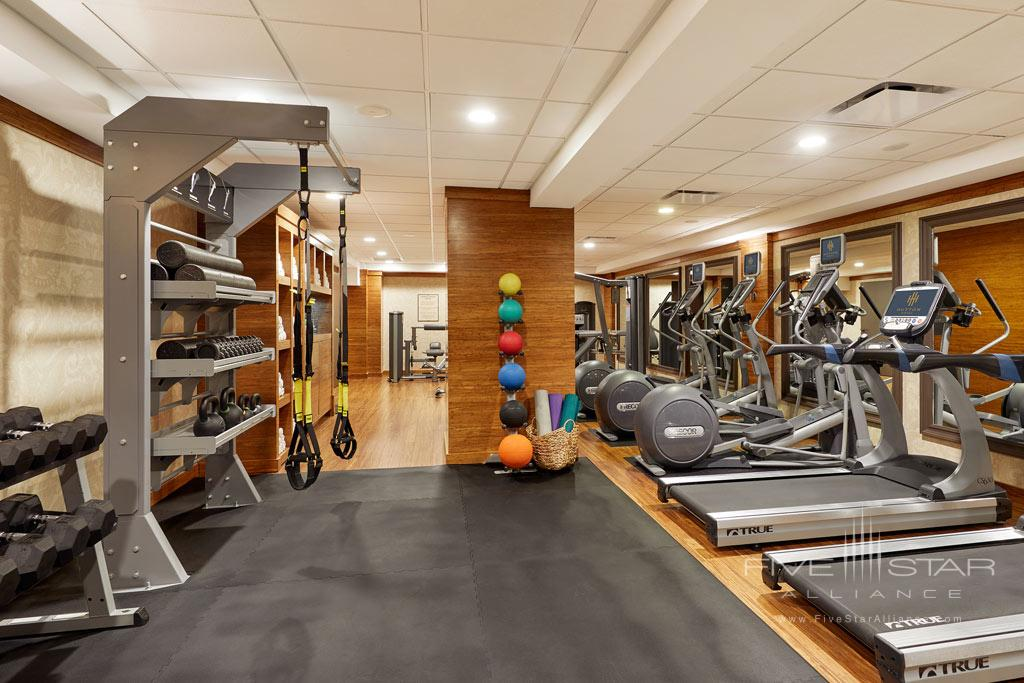 Fitness Center at Hutton Hotel, Nashville, TN Credit Tim Williams