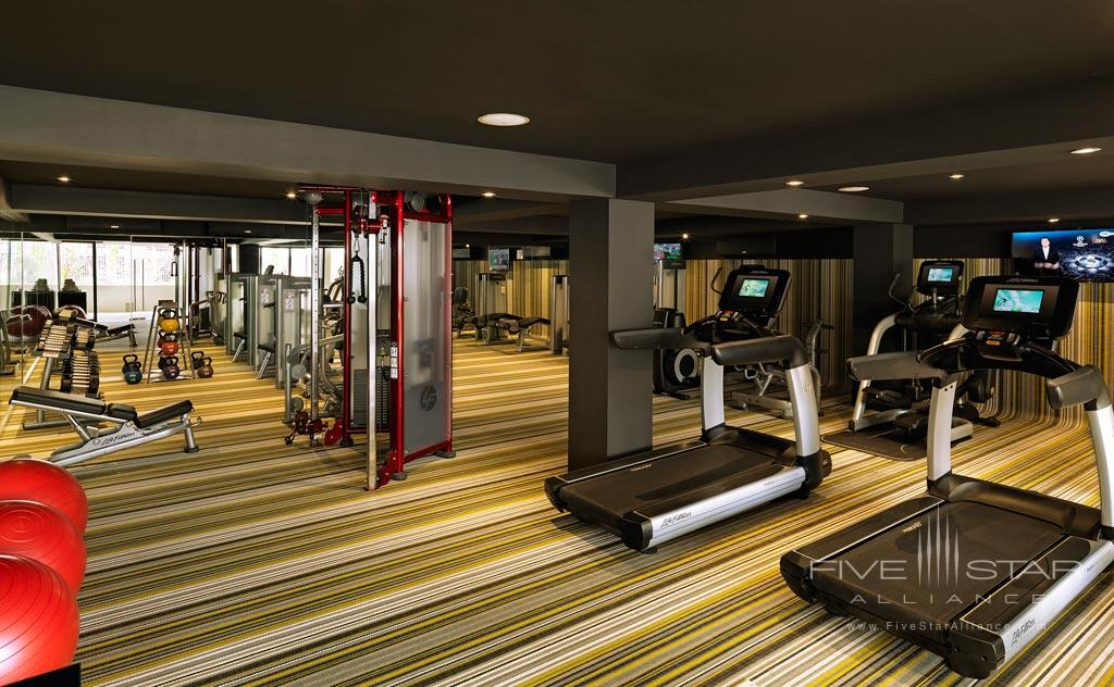 Gym at Paradisus Los Cabos, Los Cabos, BCS, Mexico