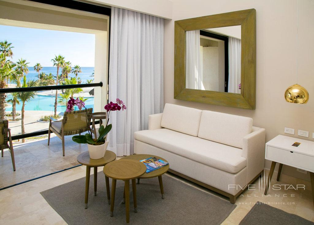 Royal Service Ocean View Suite Living Area at Paradisus Los Cabos, Los Cabos, BCS, Mexico