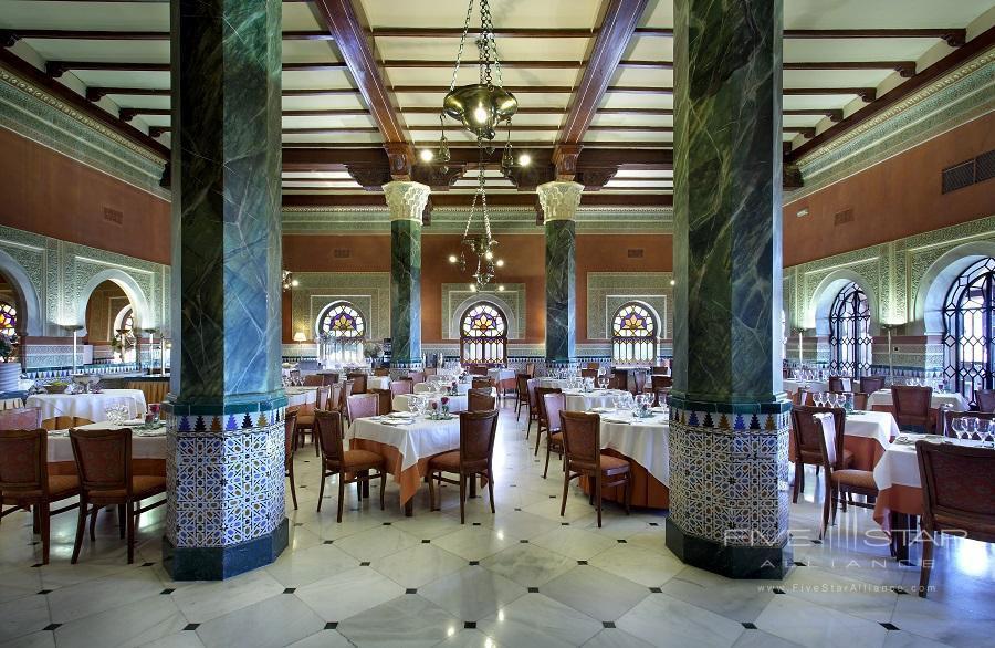 Breakfast Room at Alhambra Palace Hotel, Granada, Spain