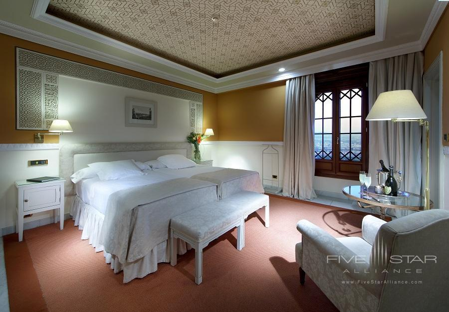 Classic City View Guest Room at Alhambra Palace Hotel, Granada, Spain