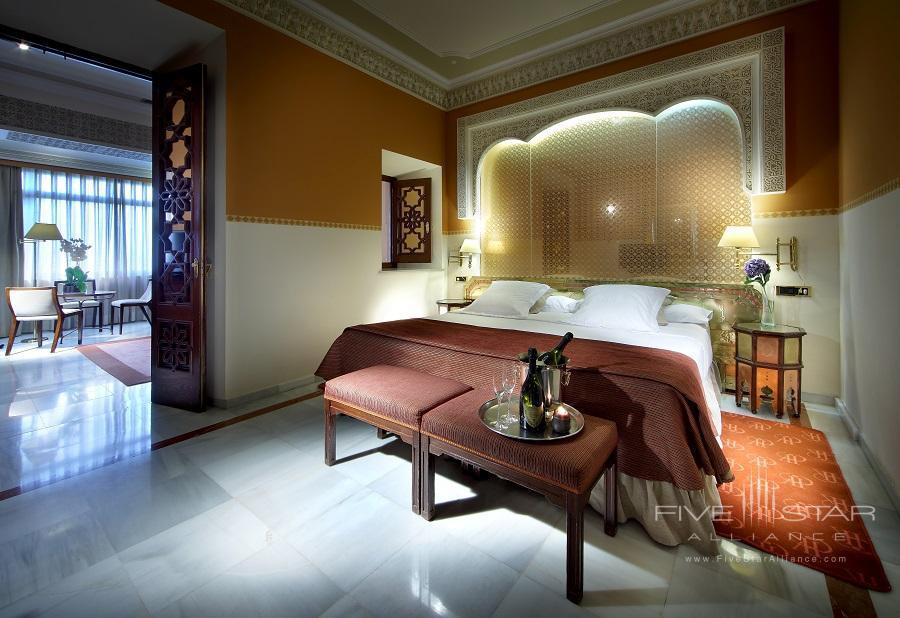 Junior Suite at Alhambra Palace Hotel, Granada, Spain