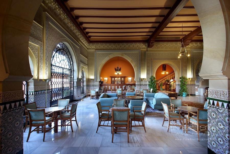 Lobby of Alhambra Palace Hotel, Granada, Spain