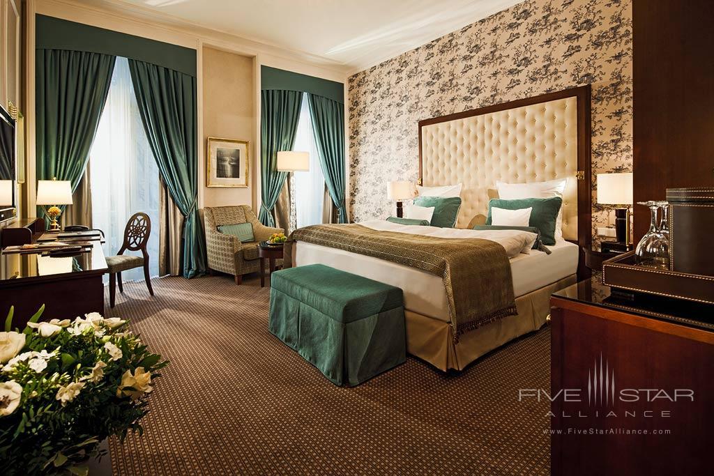 Grand Deluxe Guest Room at Steigenberger Parkhotel Dusseldorf, Dusseldorf, NRW, Germany