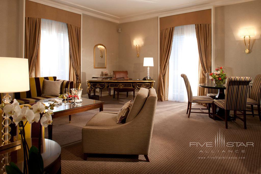 Deluxe Suite at Steigenberger Parkhotel Dusseldorf, Dusseldorf, NRW, Germany