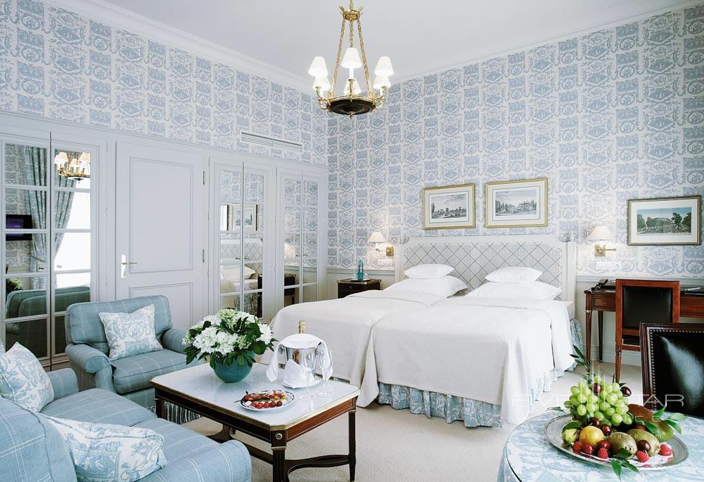 Deluxe Guest Room at Steigenberger Parkhotel Dusseldorf, Dusseldorf, NRW, Germany