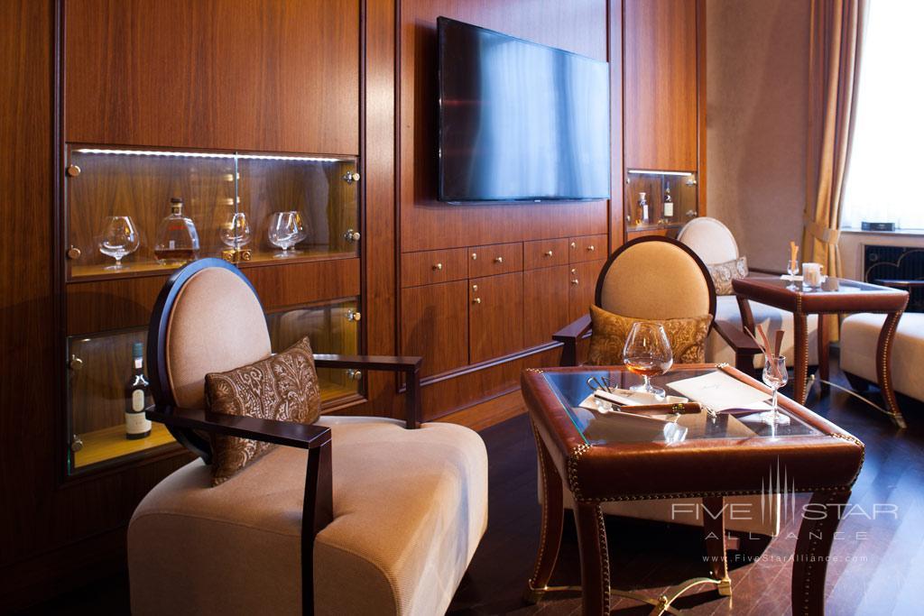 Cigar Lounge at Steigenberger Parkhotel Dusseldorf, Dusseldorf, NRW, Germany