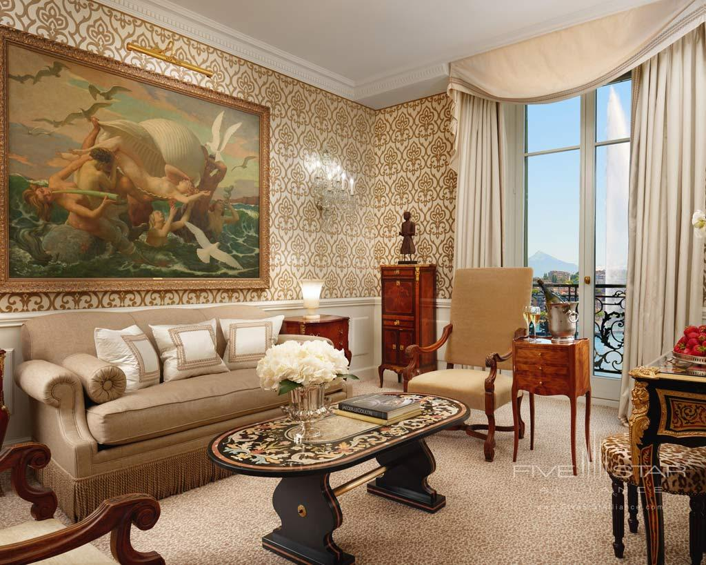 Bellevue Suite at Hotel d'Angleterre Geneva