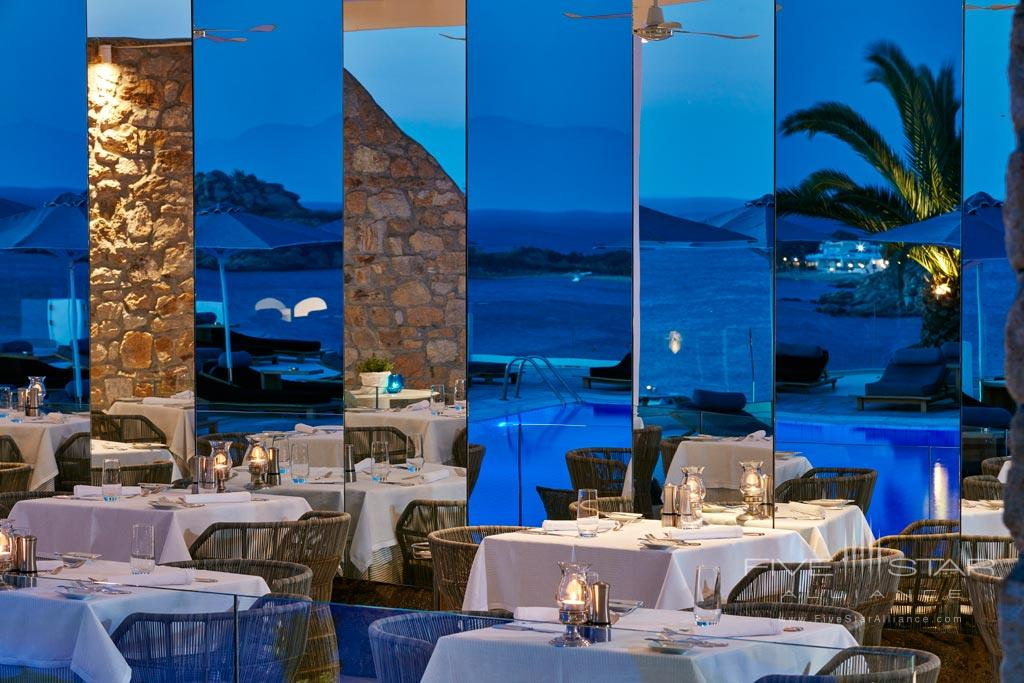 Dine at Myconian Ambassador Hotel and Thalasso Spa , Mykonos, Greece