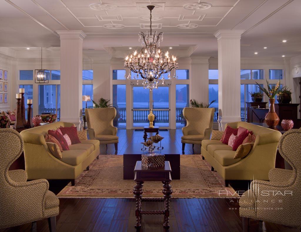 Lobby and Lounge at Prestige Oceanfront Resort Sooke, Sooke, British Columbia, Canada