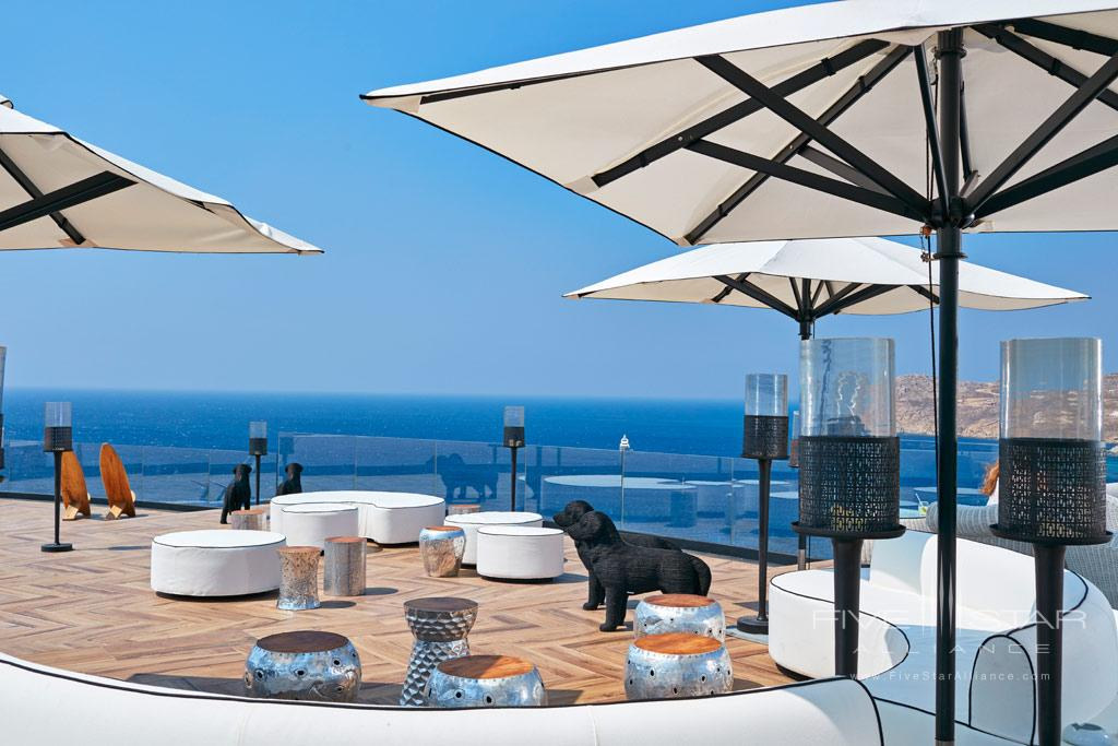 Pool Lounge at Royal Myconian Resort and Thalasso Spa, Mykonos, Greece