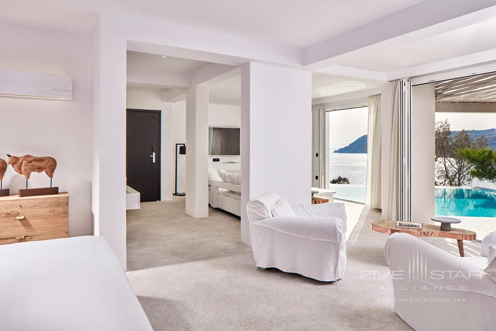Executive Suite with Private Pool at Royal Myconian Resort and Thalasso Spa, Mykonos, Greece