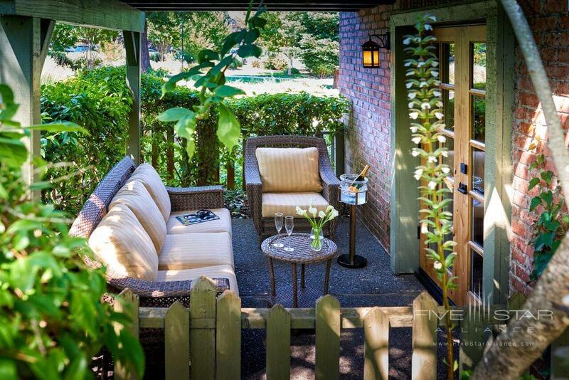 Terrace Lounge at Vintage House, Yountville, CA