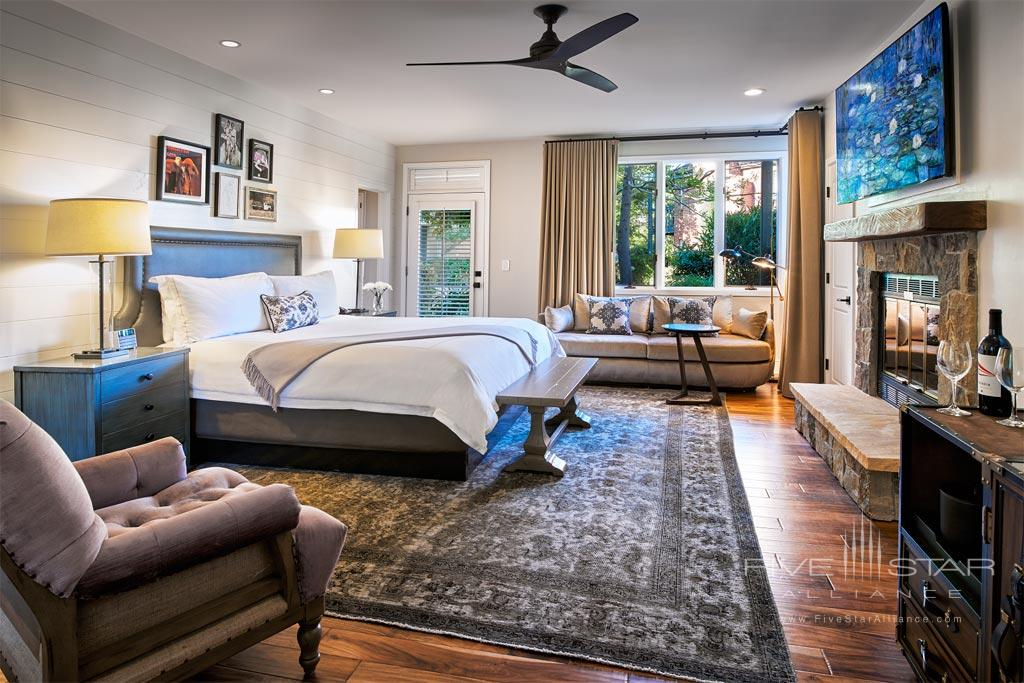Guest Room at Vintage House, Yountville, CA