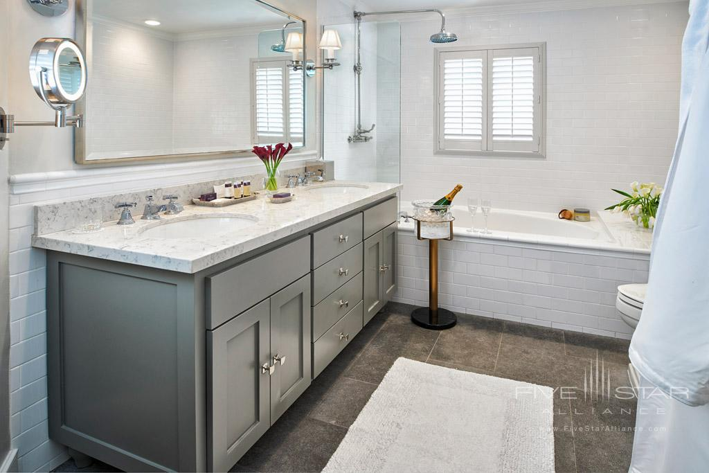 Guest Bath at Vintage House, Yountville, CA
