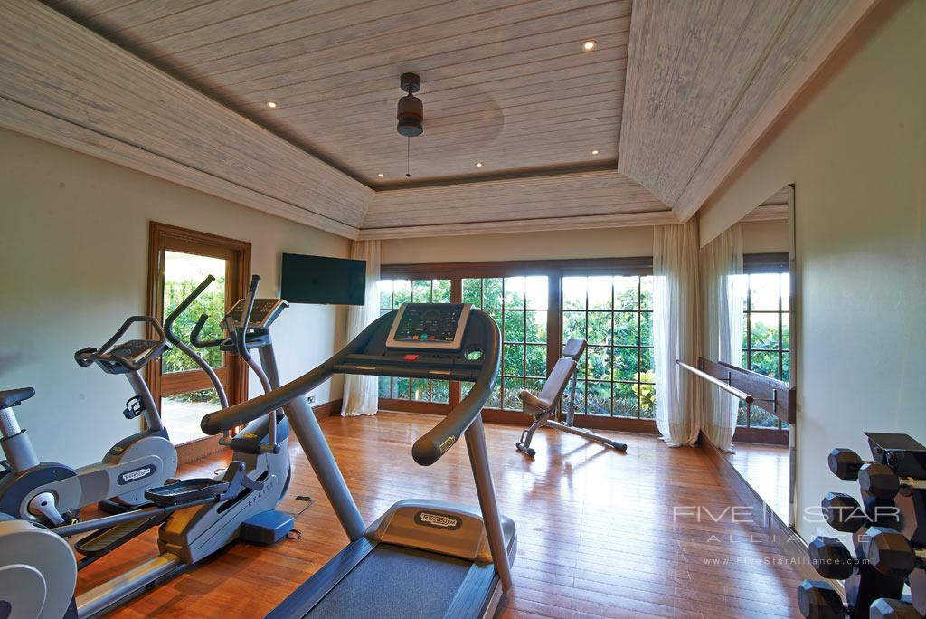 Turtle Creek Gym at Canouan Estate, West Indies, Saint Vincent and The Grenadines
