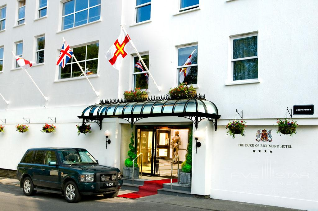 Duke of Richmond Hotel, Guernsey, Channel Islands, United Kingdom