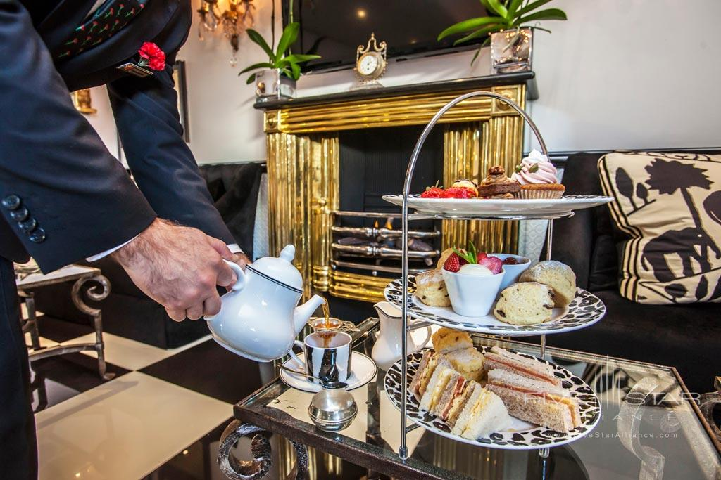 Enjoy Tea and Cakes at Duke of Richmond Hotel, Guernsey, Channel Islands, United Kingdom