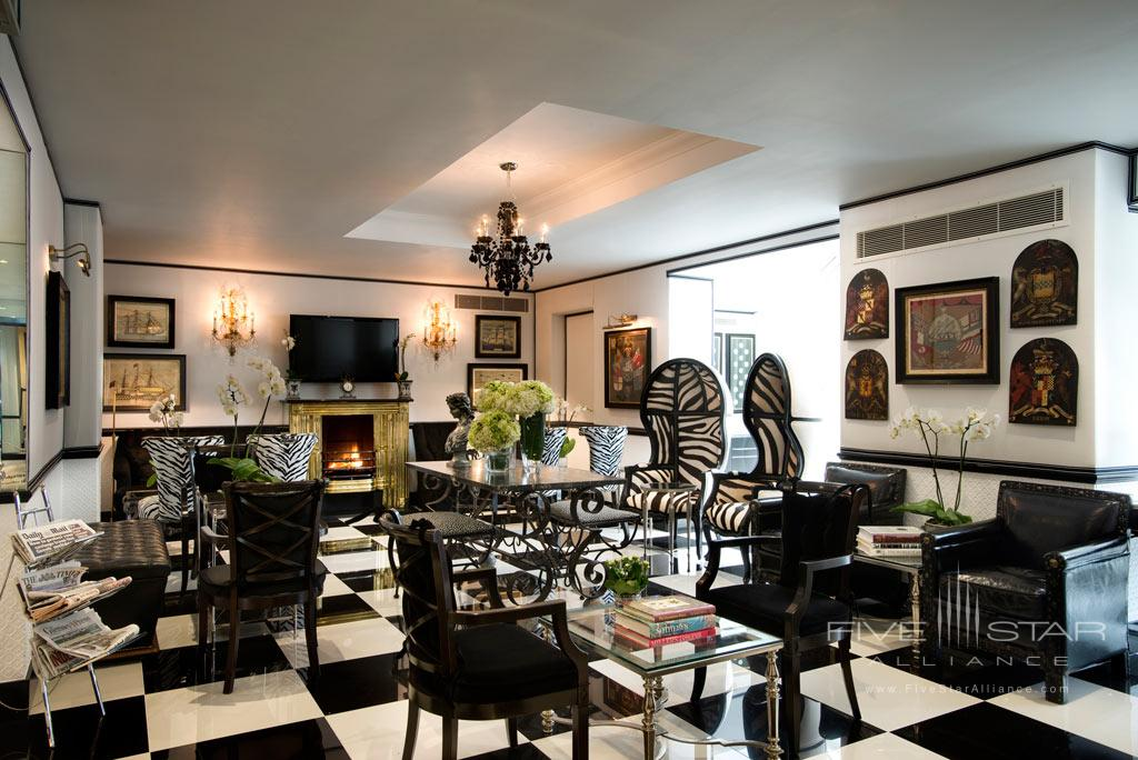 Lounge at Duke of Richmond Hotel, Guernsey, Channel Islands, United Kingdom