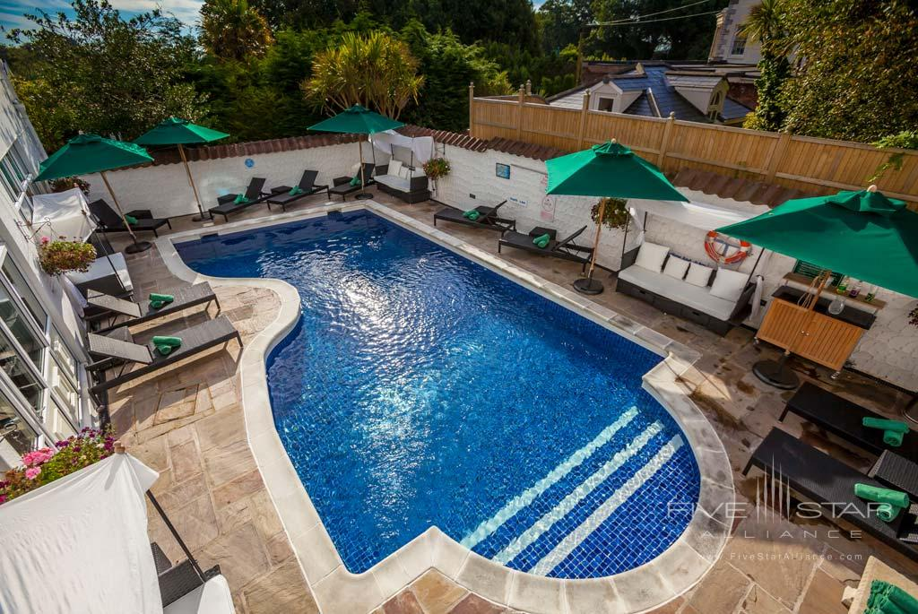 Outdoor Pool at Duke of Richmond Hotel, Guernsey, Channel Islands, United Kingdom