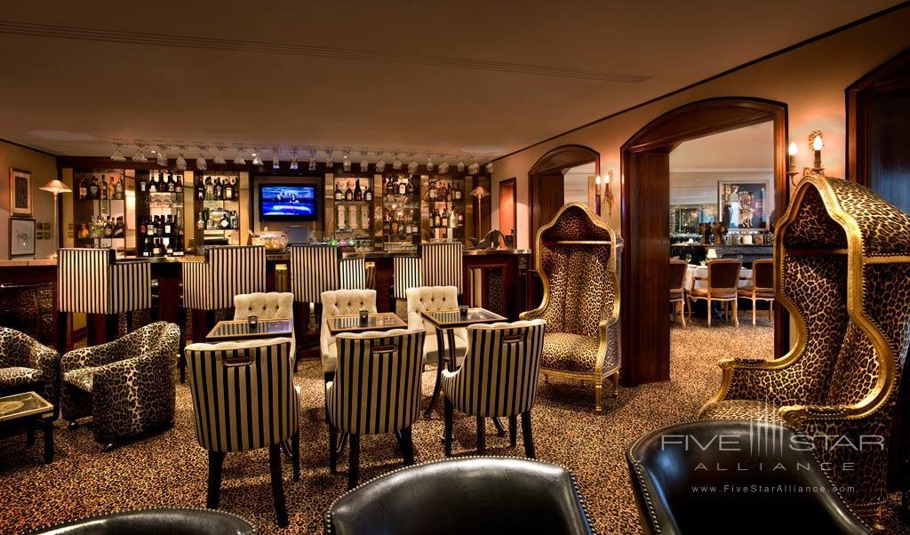 Leopard Bar and Restaurant at Duke of Richmond Hotel, Guernsey, Channel Islands, United Kingdom