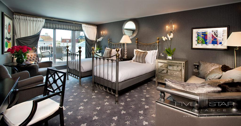 Junior Suite at Duke of Richmond Hotel, Guernsey, Channel Islands, United Kingdom