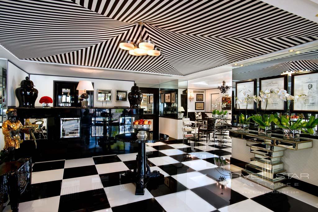 Lobby of Duke of Richmond Hotel, Guernsey, Channel Islands, United Kingdom