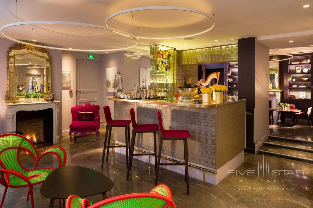 Lounge at Hotel La Belle Juliette Paris, France