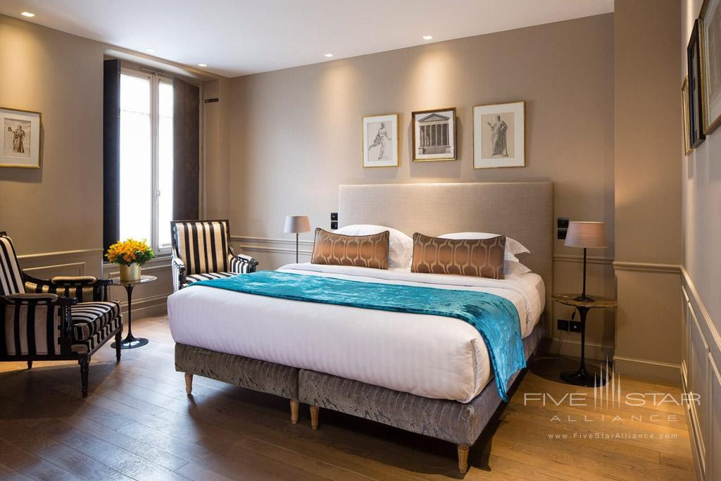 Guest Room at Hotel La Belle Juliette Paris, France