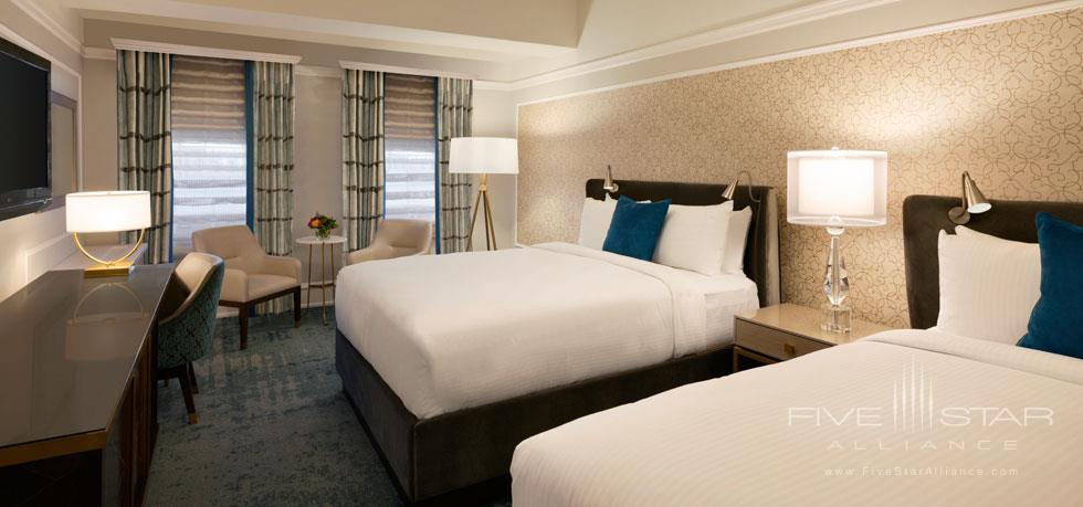 Double Guest Room at Fairmont Empress, Victoria, BC, Canada