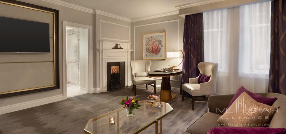 Guest Suite at Fairmont Empress, Victoria, BC, Canada