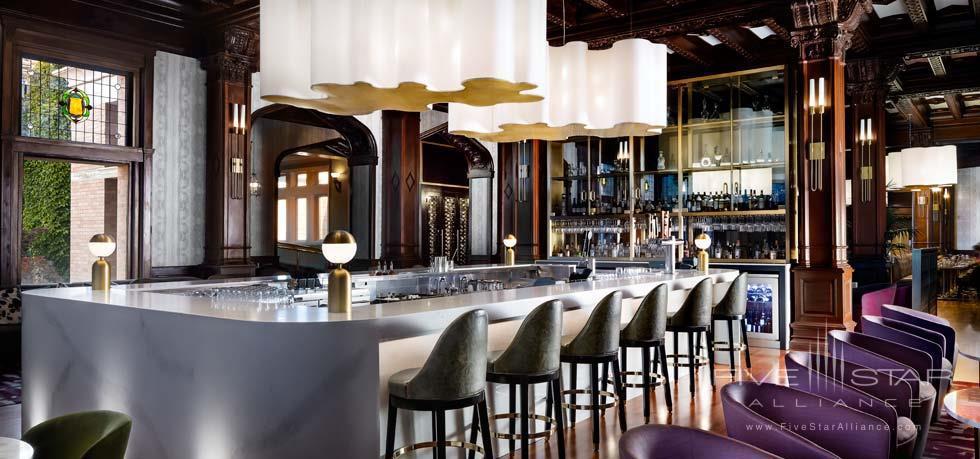 Bar at Fairmont Empress, Victoria, BC, Canada