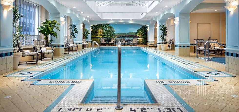 Indoor Pool at Fairmont Royal York, Toronto, ON, Canada