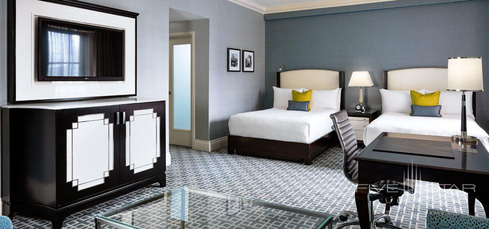 Double Guest Room at Fairmont Royal York, Toronto, ON, Canada