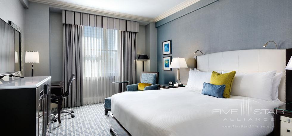 King Guest Room at Fairmont Royal York, Toronto, ON, Canada