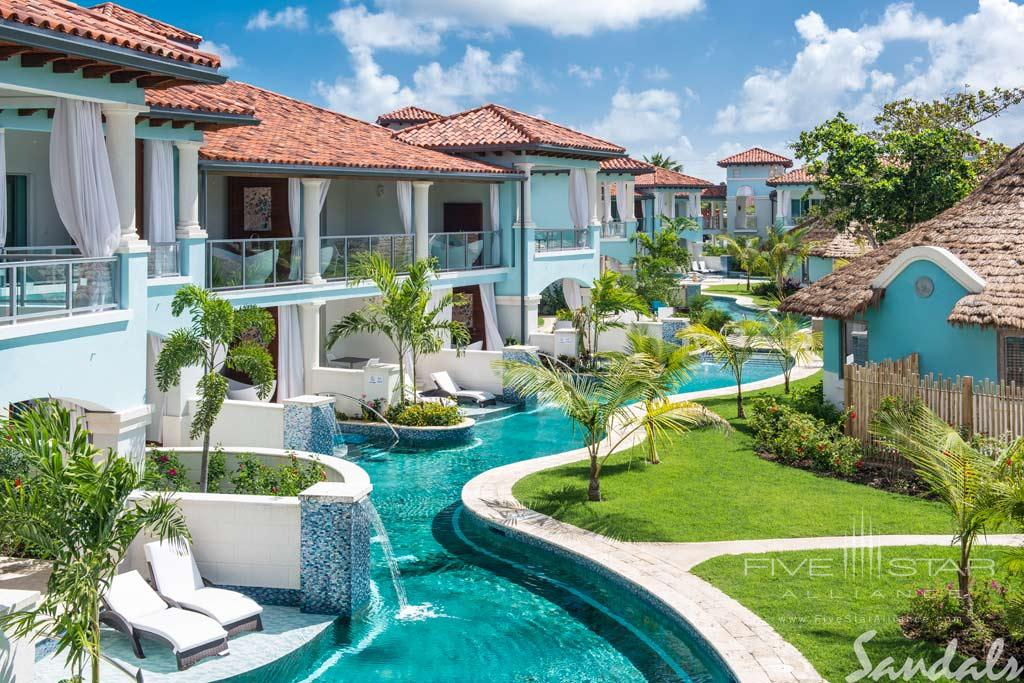 Pool Villas at Sandals Royal Barbados