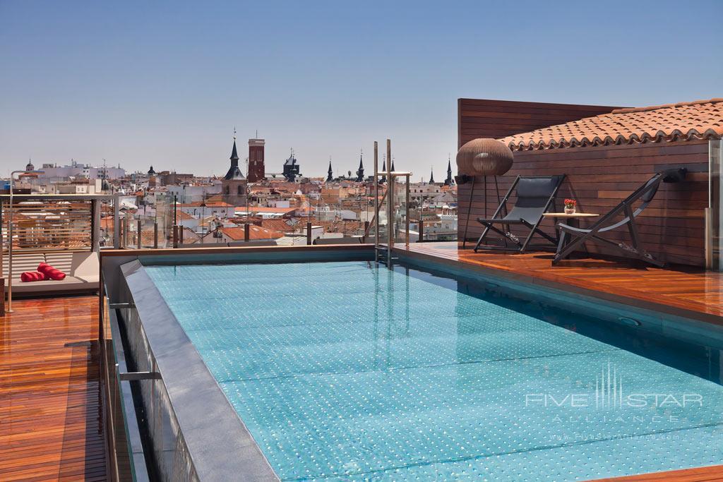 Rooftop Pool at Gran Melia Palacio de los Duques