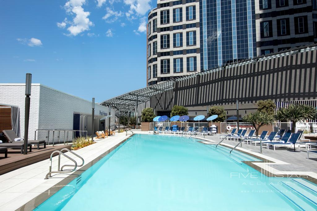 Outdoor Pool at InterContinental Los Angeles Downtown, CA