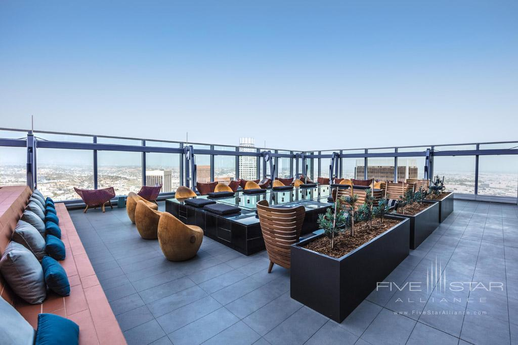 Rooftop Lounge at InterContinental Los Angeles Downtown, CA