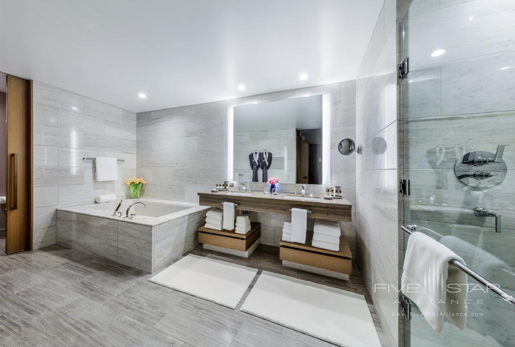 Suite Bath at InterContinental Los Angeles Downtown, CA