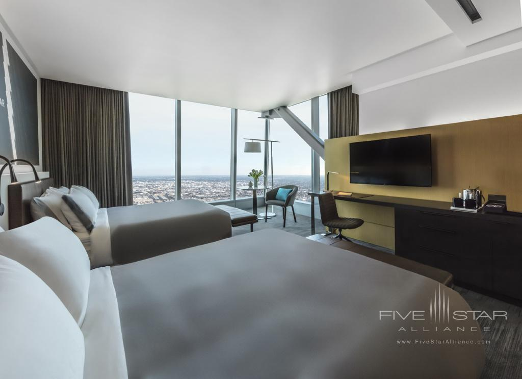 Double Guest Room at InterContinental Los Angeles Downtown, CA