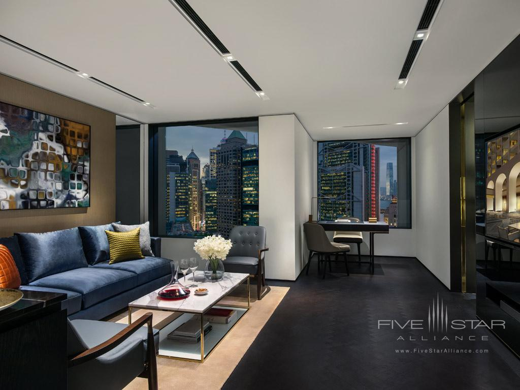 Explorer Suite Living Room at The Murray, Hong Kong
