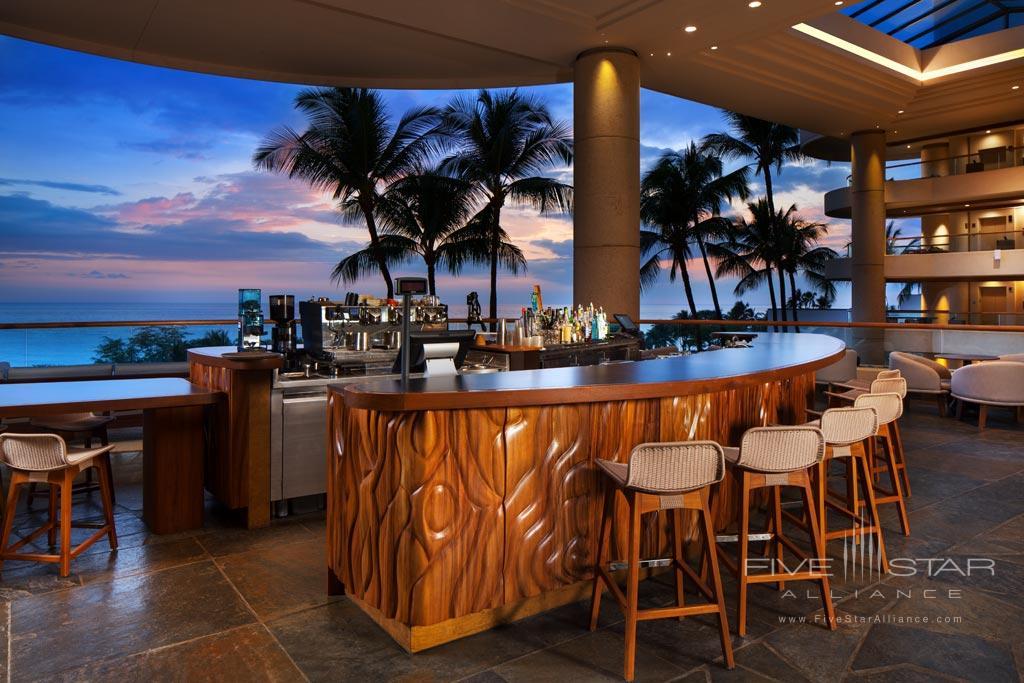 Bar at The Westin Hapuna Beach Resort, Kohala Coast, HI